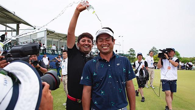 日本 男子 ゴルフ ツアー 速報